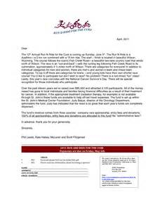 sponsorship request cover letter events fitzgerald s bicycles