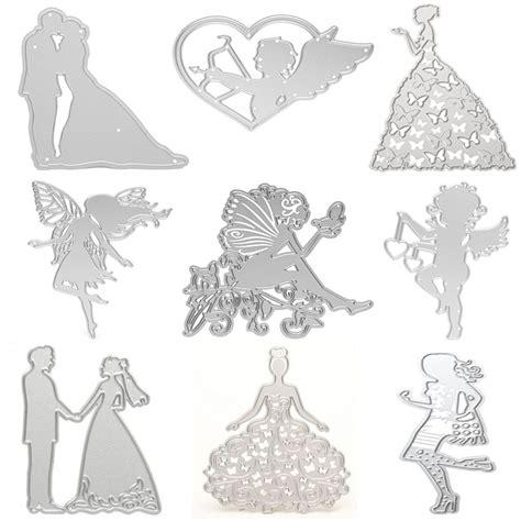 Wedding Album Embossing by Diy Wedding Cutting Dies Stencils Scrapbooking Album Paper