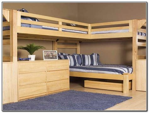 wood bunk bed with desk underneath bunk beds with desk