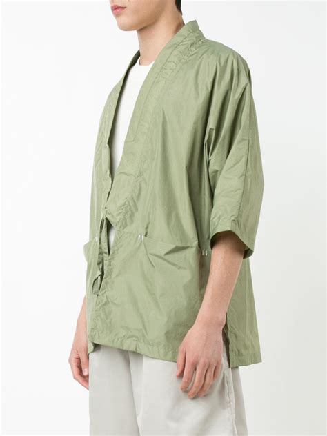 Lace Jacket Green lyst iise lace up jacket in green for