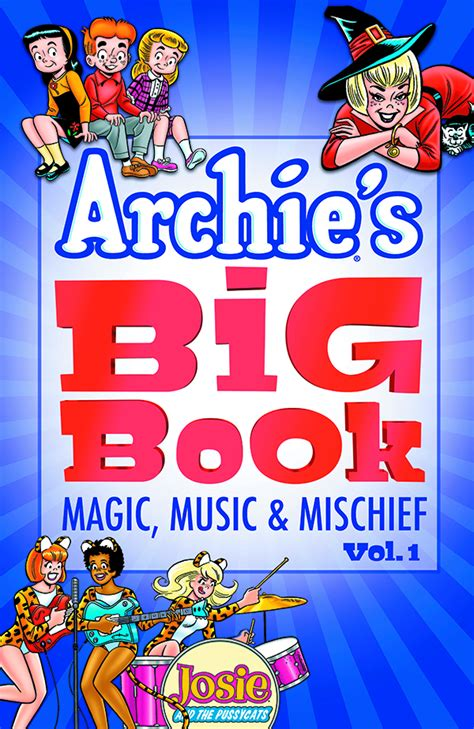 magic calls echoes volume 1 books jun171231 archies big book tp vol 01 magic