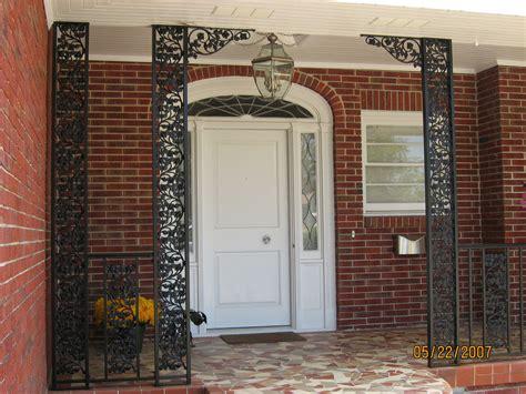Decorative Metal Porch Posts by Decorative Metal Porch Columns Decor Accents