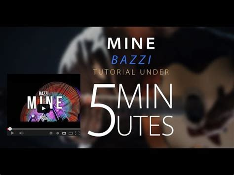 bazzi mine chord mine bazzi easy acoustic guitar tutorial lesson cover w