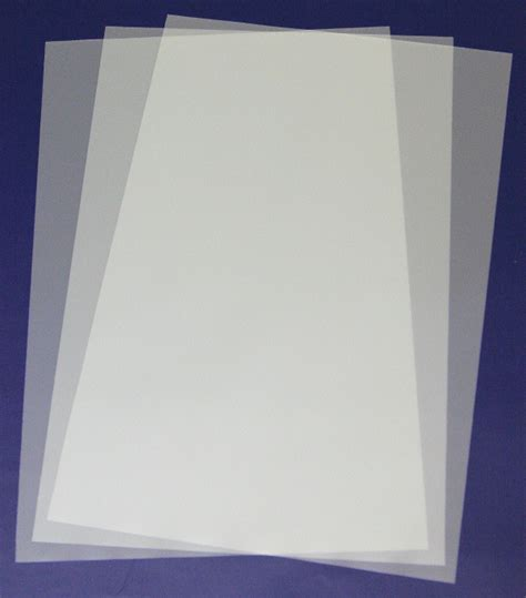 Mylar Template Sheets by A3 Blank Mylar 4 Sheets Airbrush 457x300mm New Ebay