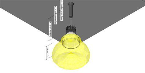 Pendant Lighting Revit Bim Objects Families