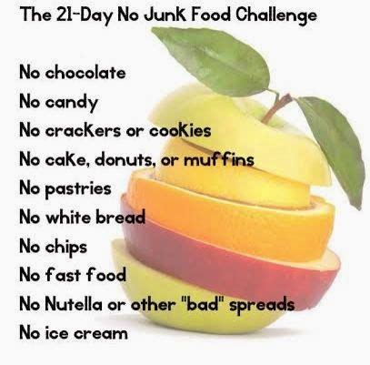 21 Day Junk Food Detox by 25 Best Ideas About Junk Food Challenge On