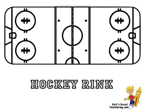 Ice Hard Hockey Coloring Pictures Nhl Hockey West Ice Free Hockey Coloring Pages