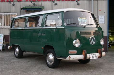 green volkswagen van dark green green eyed monster pinterest