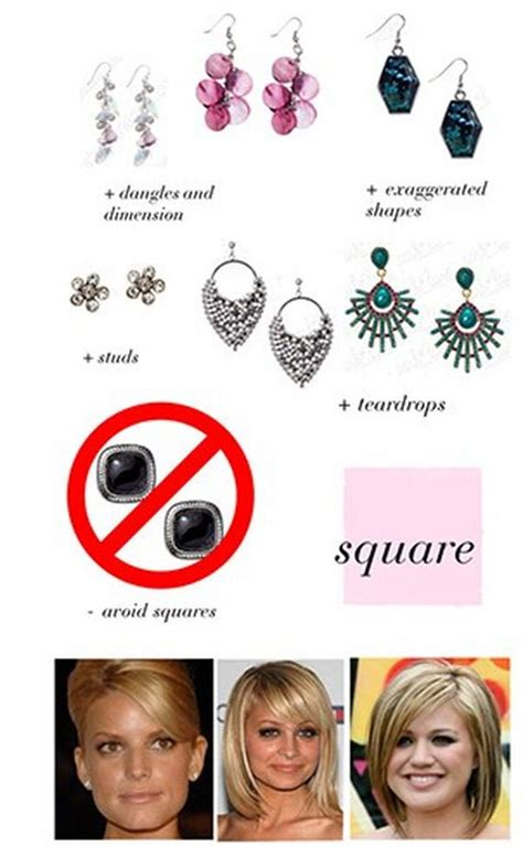 a mini guide on how to choose earrings for your face shape quick guide how to choose earrings for your face shape
