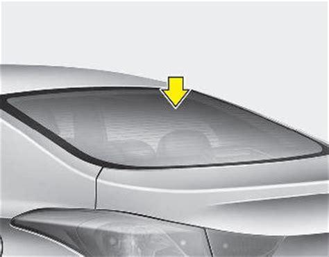hyundai elantra glass antenna  equipped antenna audio system features   vehicle