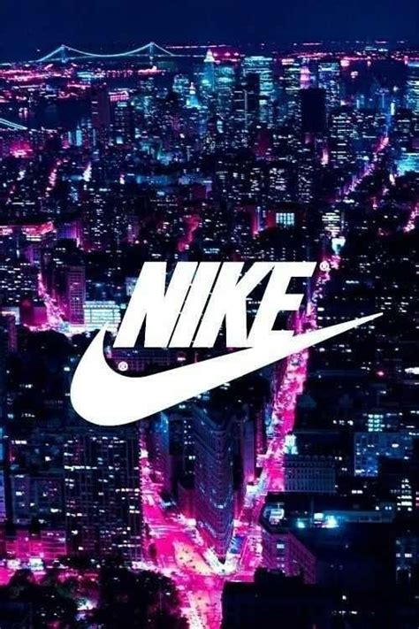 adidas room wallpaper nike sign with bright lights in the city sports