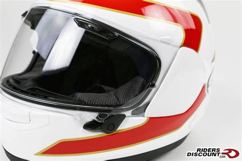 Helm Arai Rx7x Spencher 30th White arai corsair x spencer 30th anniversary helmet riders