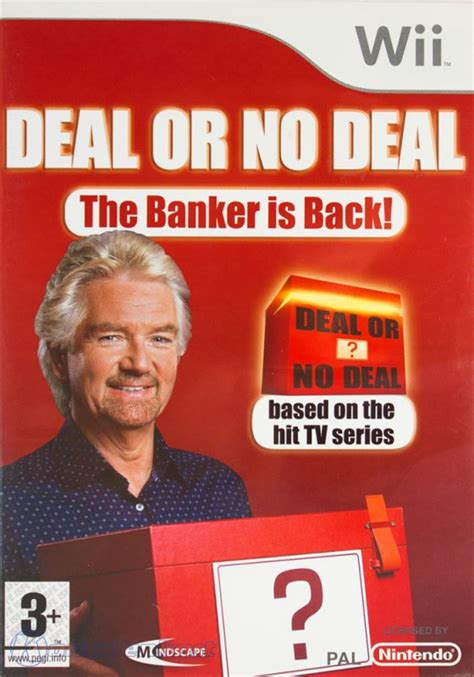 deal or no deal banker wii deal or no deal the banker is back mit ovp gebraucht