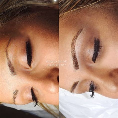 tattoo eyebrows australia 111 best cmh tayla made wow brows feather touch