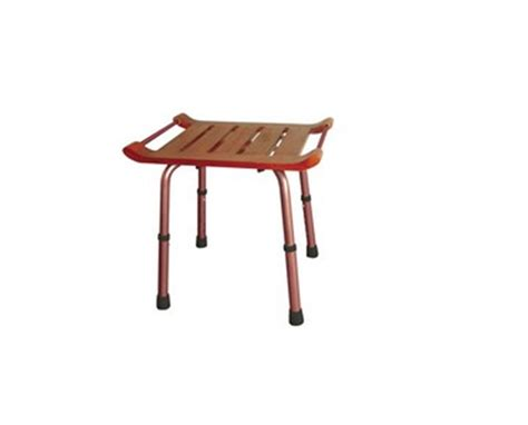 height of shower bench drive teak height adjustable shower bench free shipping tiger medical inc