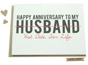 anniversary card husband spouse partner by grimmandproper