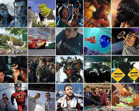 film quiz of the noughties 100 pics 2000s movies answers 4 pics 1 word game answers
