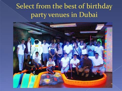 Top places to celebrate kid?s birthday party in dubai