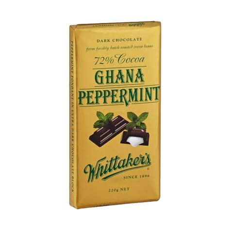 Whittakers Chocolate 200g jual whittakers peppermint chocolate 200 g