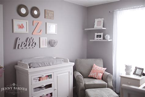 peach and gray bedroom savvy s room a peach gray nursery 187 jenny barnes