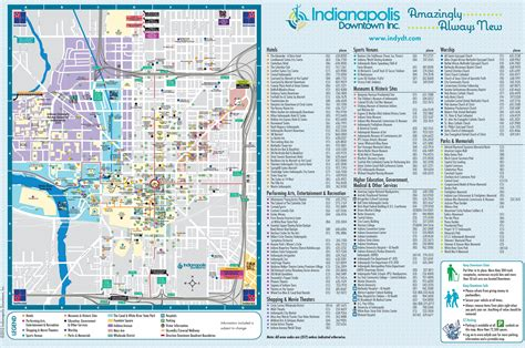 map usa indianapolis indianapolis tourist attractions map