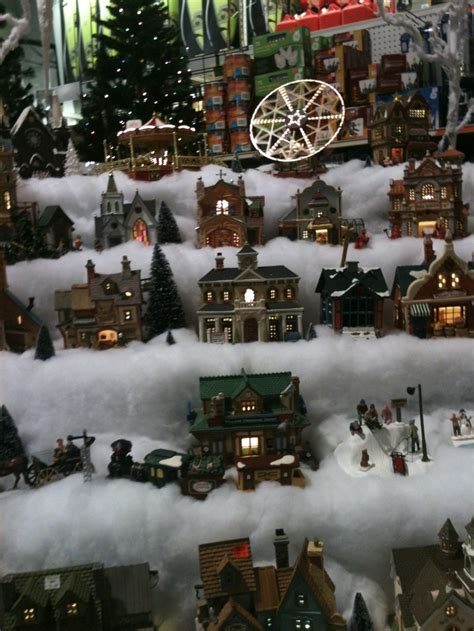 christmas village setup  miniature christmas village pinterest christmas villages