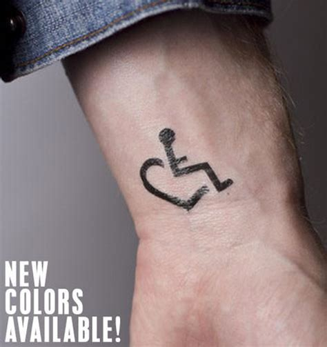 wheelchair tattoo designs small temporary tattoos by tattoos 3e s wheelchair