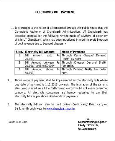Bill Payment Request Letter request letters format
