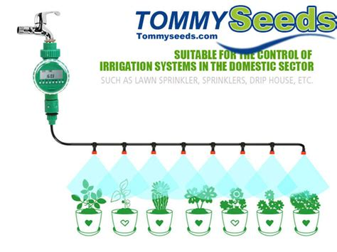 diy micro drip irrigation system plant  automatic