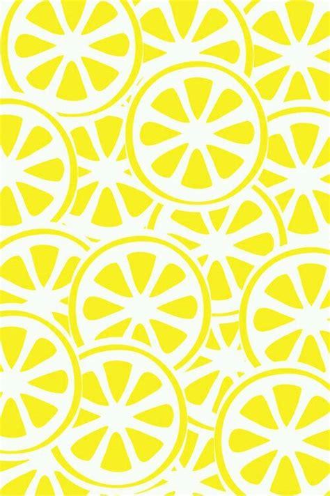 wallpaper cute yellow background backgrounds color cute lemon theme