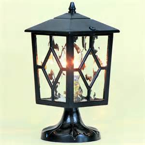 Outdoor Pillar Lighting Curzon Outdoor Pedestal Pillar Light Lighting Enlightenment