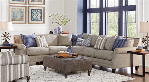 grey and brown living room blue brown gray living room furniture decorating ideas