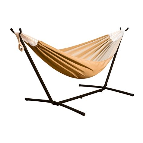 Hammock With Stand Combo vivere hammocks combo hammock with stand reviews wayfair