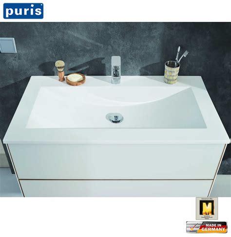 waschtisch glas puris line waschtisch set 60 cm mit glas waschtisch