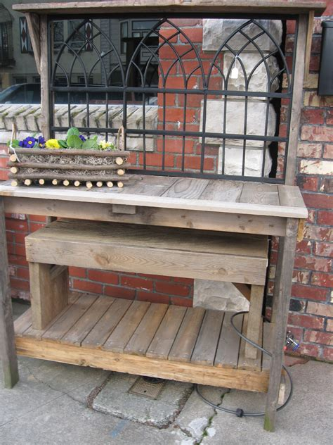 potting bench for sale wrought iron potting bench dream garden woodworks