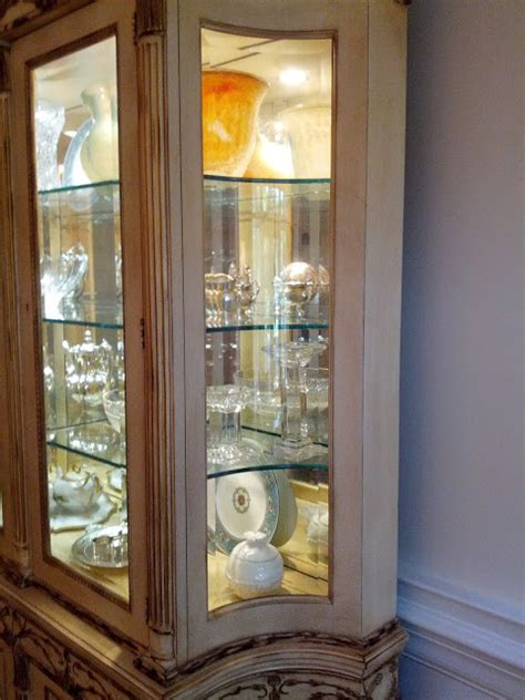 sunderland on design how to decorate a china cabinet