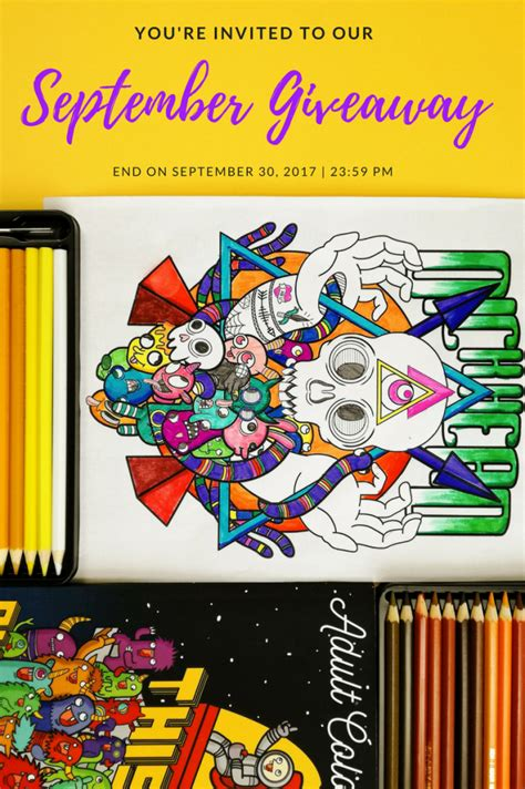 Book Giveaways 2017 - september 2017 swear word adult coloring book giveaway unibul press
