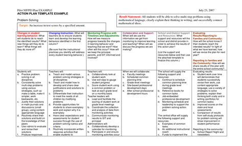 Best Photos Of Action Plan Exles Action Plan Template Exles Sle Action Plan Template Plan Exle For Students