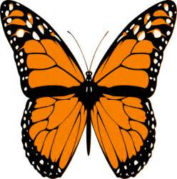 Monarch Butterfly Outline by Monarch Butterfly Outline Cliparts Co
