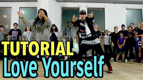 Tutorial Dance Love Yourself | tutorials matt steffanina