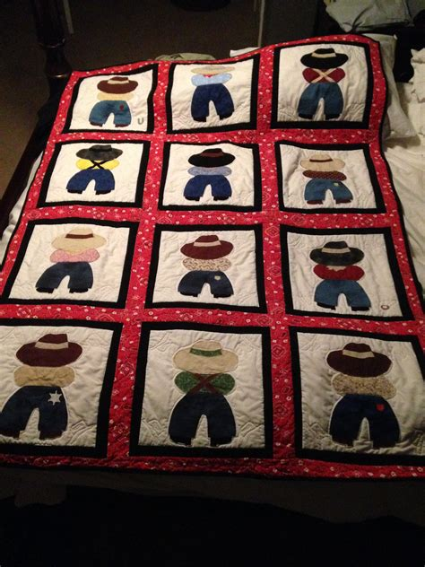 free printable cowboy quilt patterns my version of a cowboy baby quilt