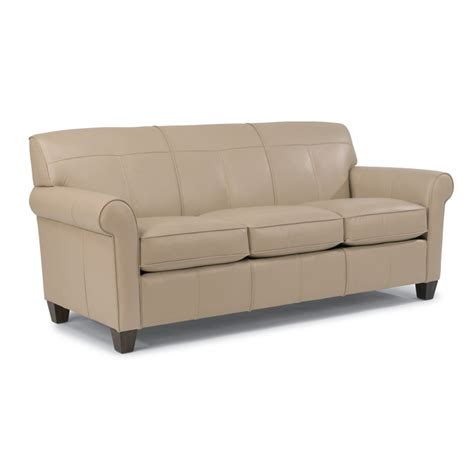 Leather Sofa Discount Flexsteel B3990 31 Leather Sofa Discount Furniture At Hickory Park Furniture Galleries
