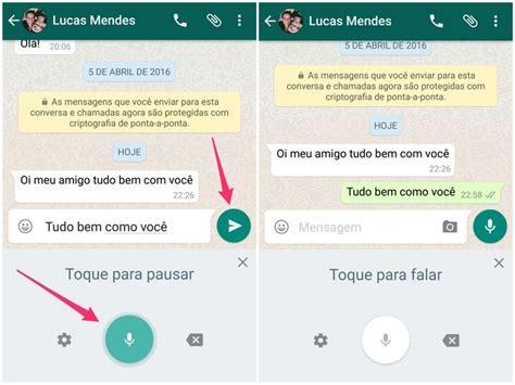 Imagenes Para Mandar X Whatsapp   whatsapp como mandar mensagens sem digitar usando a