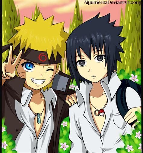 imagenes kawaii de naruto naruto y sasuke by aiyumerita on deviantart