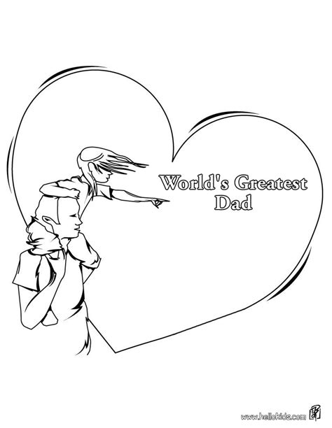 world s greatest father coloring pages hellokids com