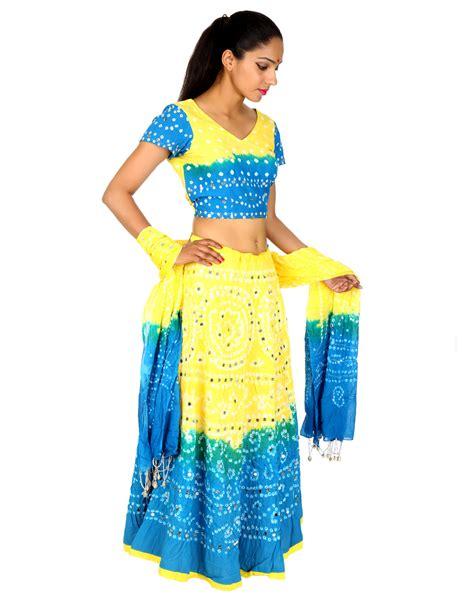 lehenga choli womens indian cotton ethnic sequins work