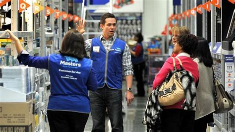 new home improvement chain masters planning a price war