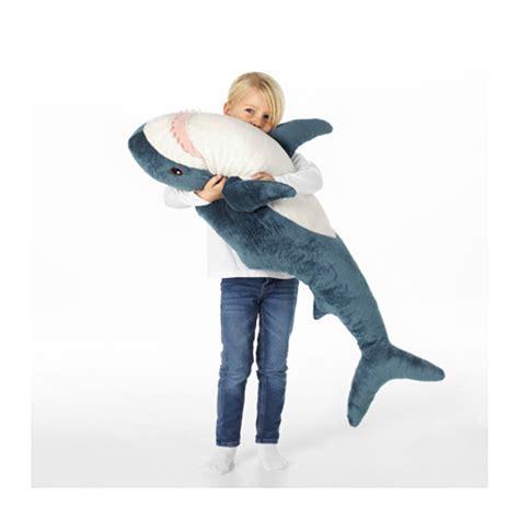 Boneka Hiu Ikea Bl 197 Haj Soft Shark Ikea