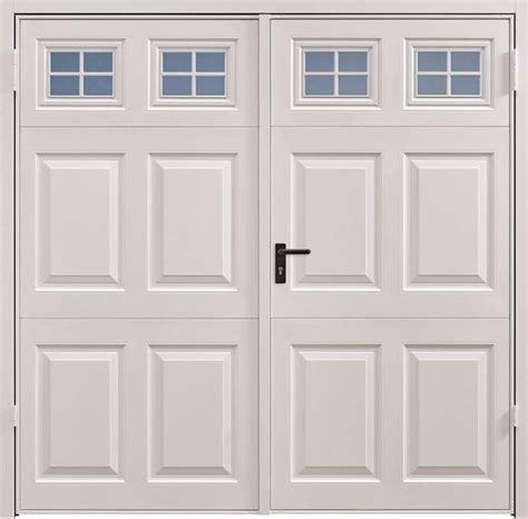Garador Side Hinged Garage Doors garador side hinged beaumont windows