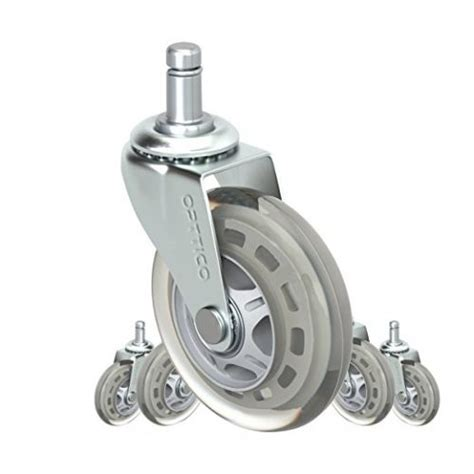 Desk Chair Wheels Replacement by Top 10 Best Office Chair Caster Wheels In 2019 Fit For